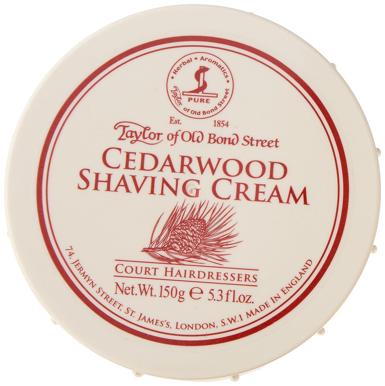Taylor of Old Bond Street Shaving Cream 150g Bowl Cedarwood 01012