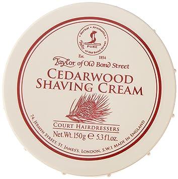 Taylor Of Old Bond Street Cedar Wood Shaving Cream 150g Drogerie Körperpflege