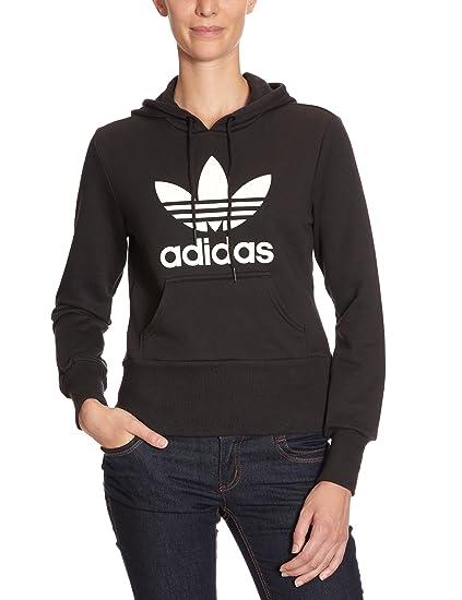 hot sale online wholesale price usa cheap sale adidas Damen Pullover Originals Trefoil Hoodie