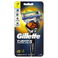 Deals on Gillette Fusion5 ProGlide Men's Razor, Handle & 2 Blade Refills