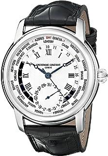 Frederique Constant World Timer Mens Designer Watch