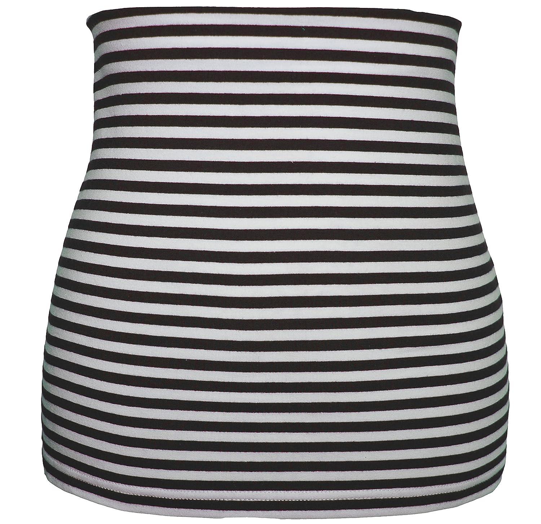 Shirt Verl/ängerer Belldessa 3 in 1 schwarz Uni Frau XS Nierenw/ärmer modisches Accessoire Jersey