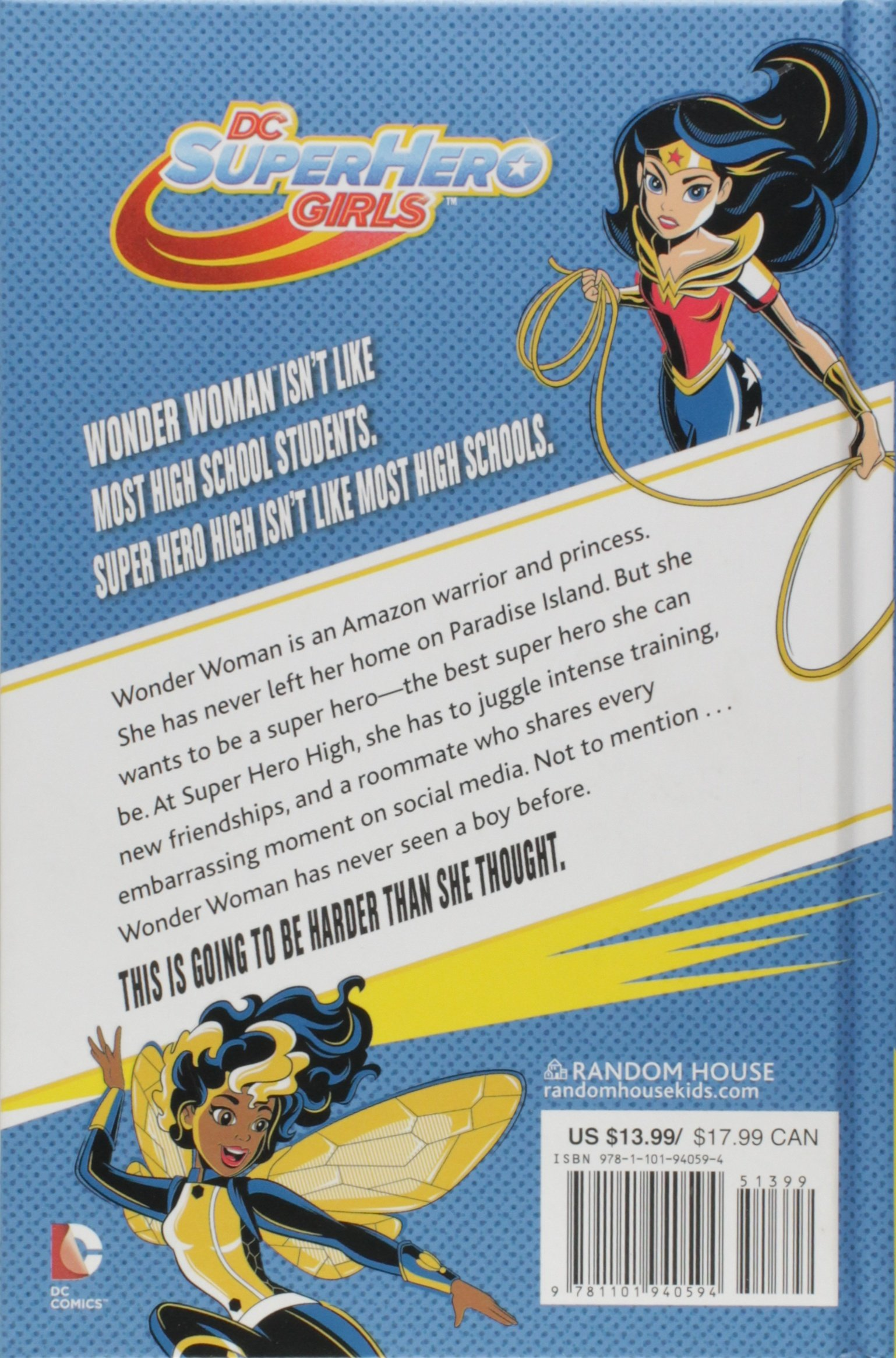 21cbefdb0c432 Wonder Woman at Super Hero High (DC Super Hero Girls): Lisa Yee ...