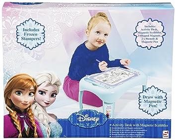 Disney - La Reine Des Neiges - Mini Table d\'Activités avec Ardoise ...