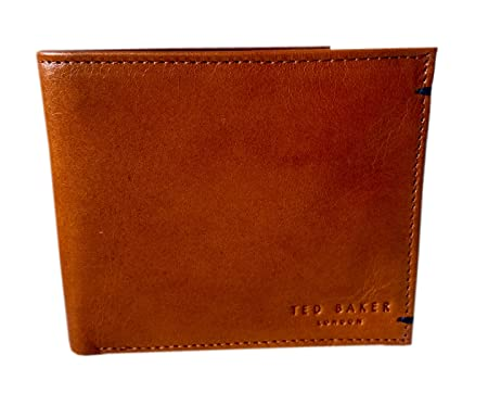 2185dab2dabe TED BAKER LONDON TANNED BI-FOLD WALLET  Amazon.co.uk  Luggage