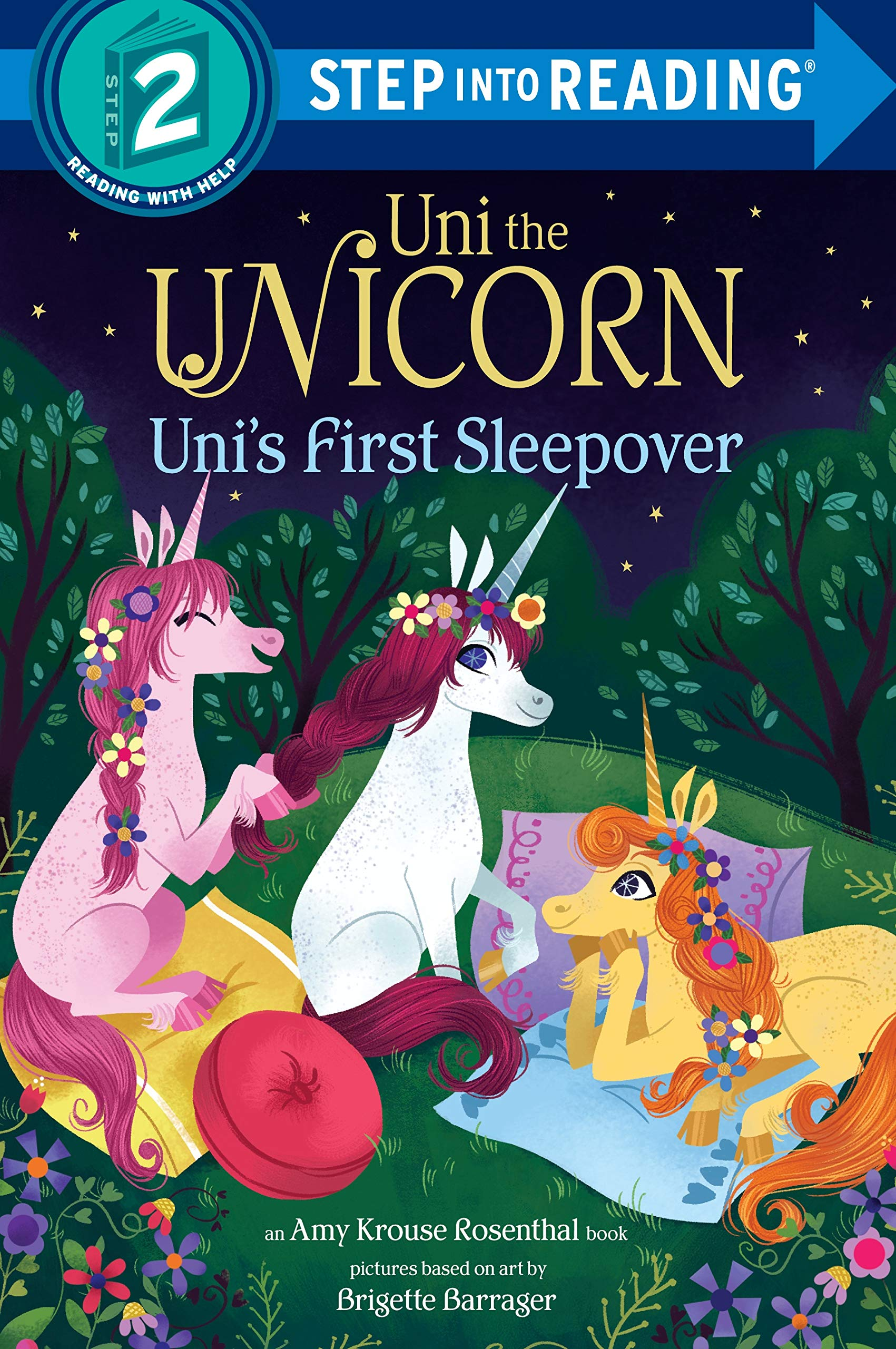 Unis First Sleepover Step Reading product image