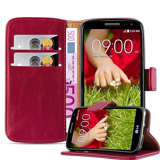 4 opinioni per Cadorabo- Custodia Luxury Book Style Design Portafoglio per LG G2 MINI con