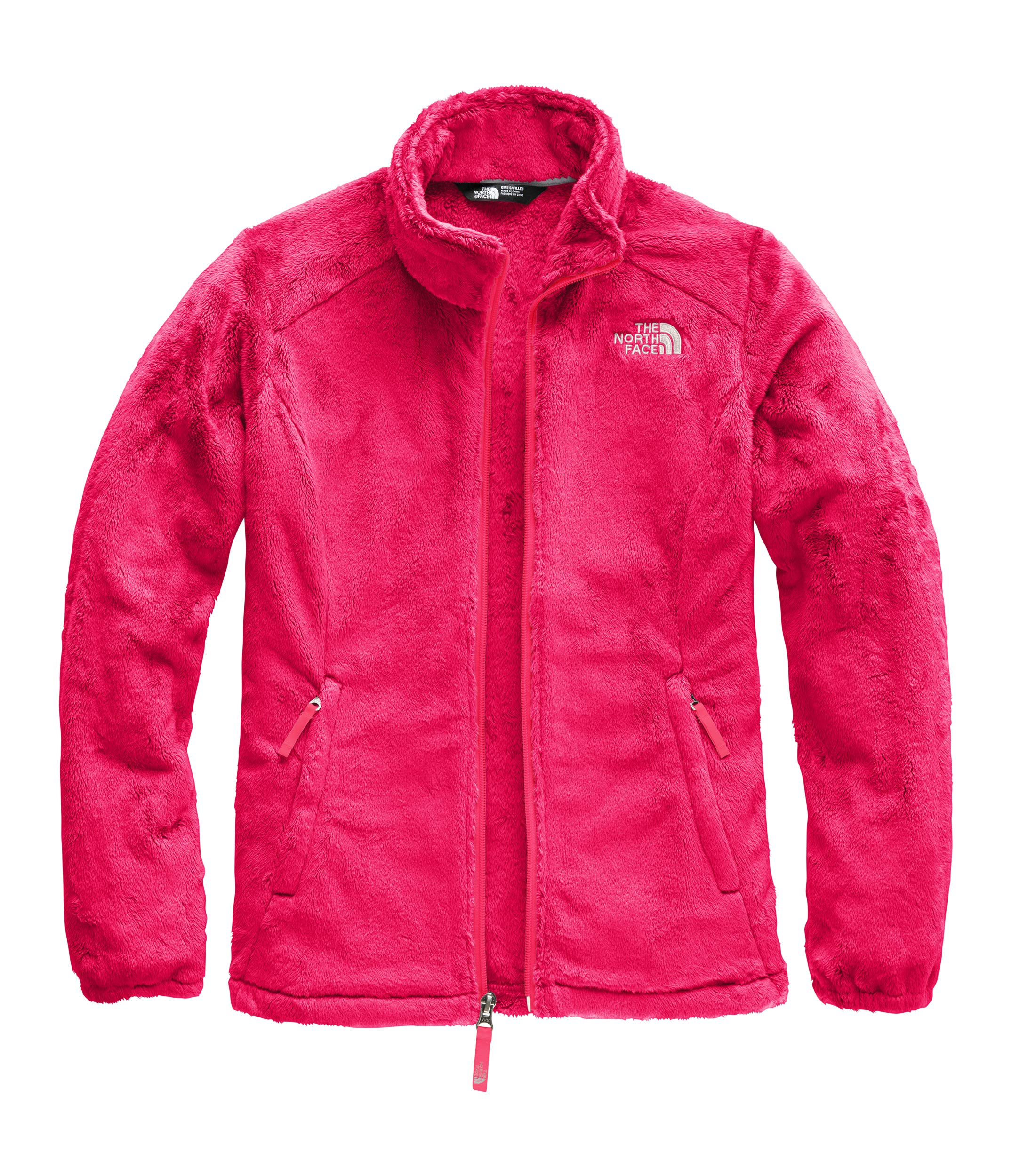 The North Face Girls' Osolita Jacket, Atomic Pink, XX-Small