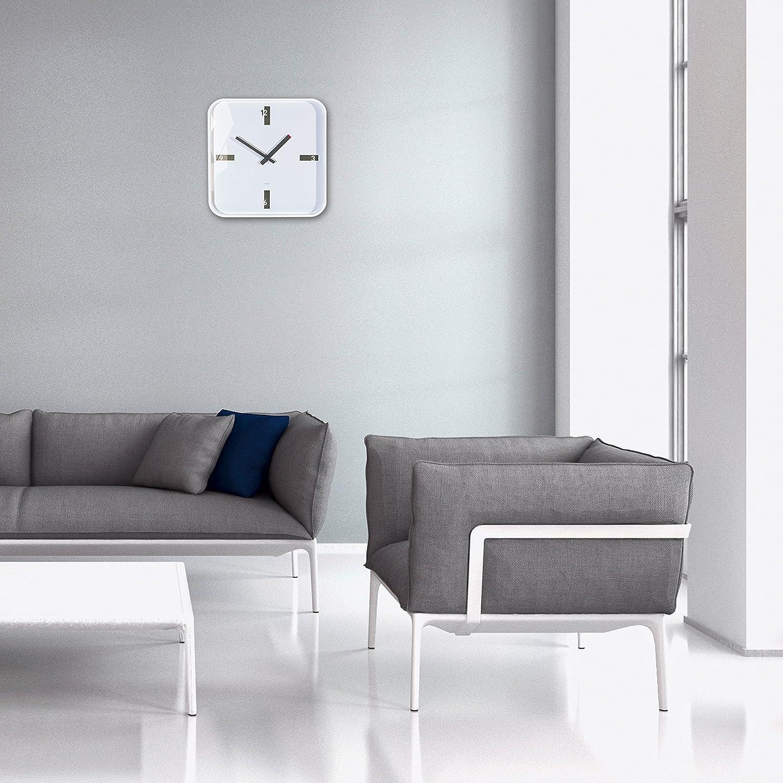 Amazon.de: Sigel WU122 moderne, große Design-Wanduhr, Modell mezo ...