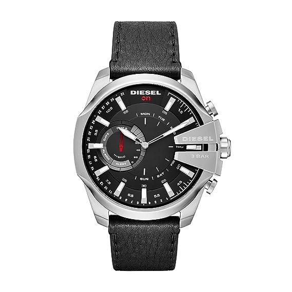 Diesel Reloj Analogico para Hombre de Cuarzo con Correa en Cuero DZT1010: Amazon.es: Relojes