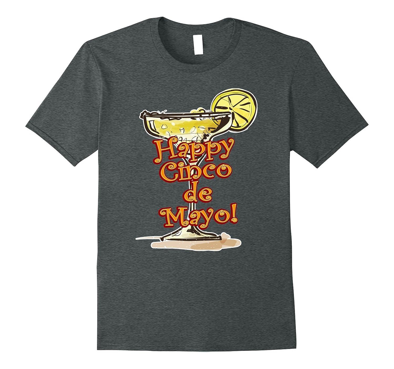 Happy Cinco de Mayo Margarita T-Shirt-CD