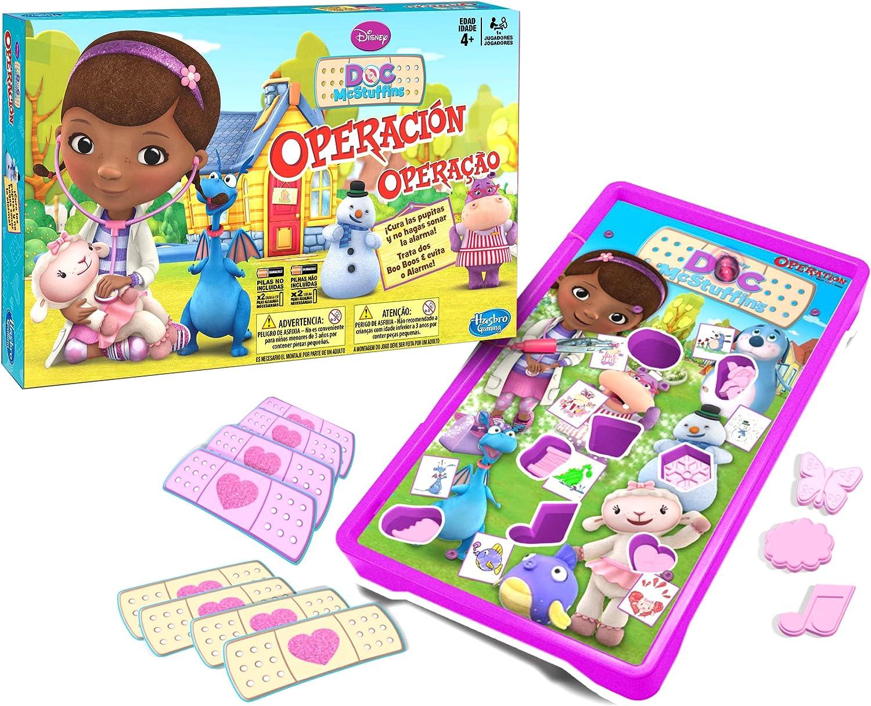 M.B Juegos Hasbro Gaming - Operación Doctora Juguetes (A5879175 ...