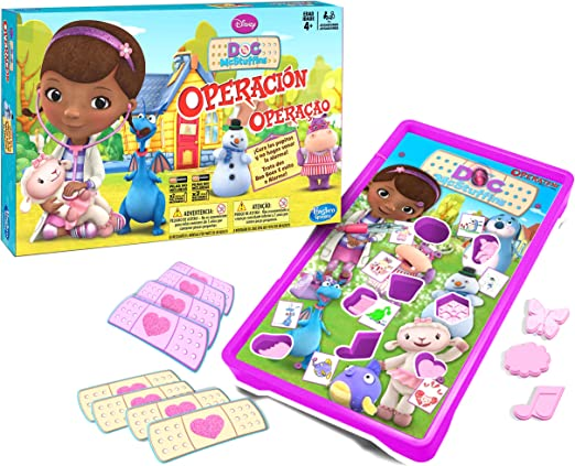 M.B Juegos Hasbro Gaming - Operación Doctora Juguetes (A5879175): Amazon.es: Juguetes y juegos