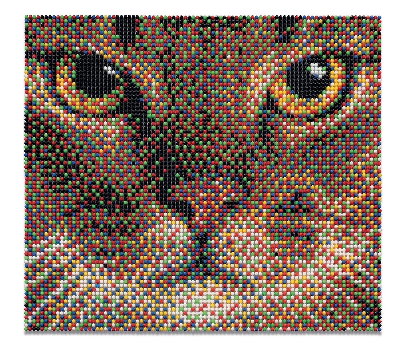 Quercetti Pixel Art Set 7200 Gatto Amazoncouk Toys