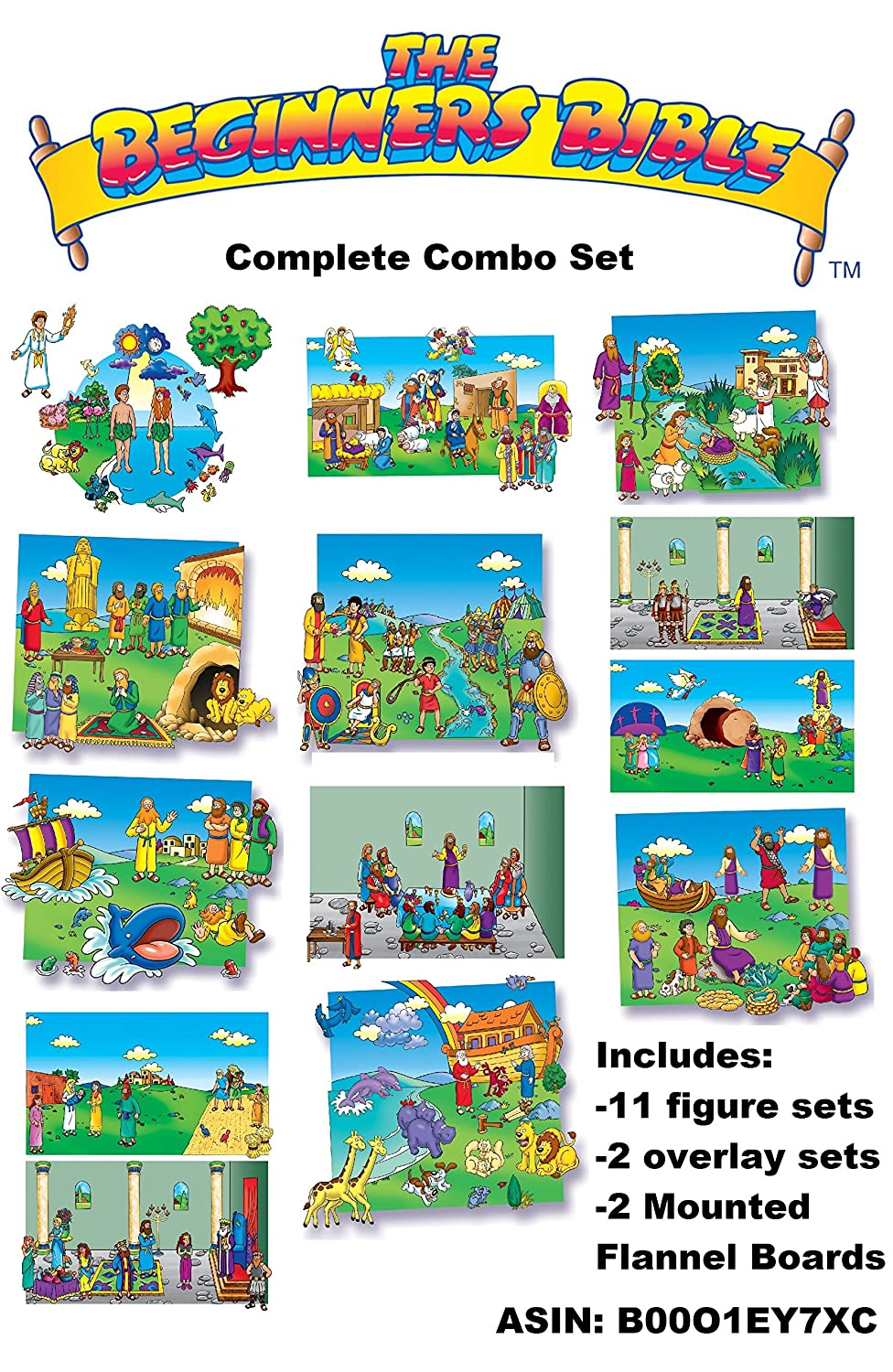 Amazon.com: Toggle Size 22 Old & New Testament Bible Stories Set ...