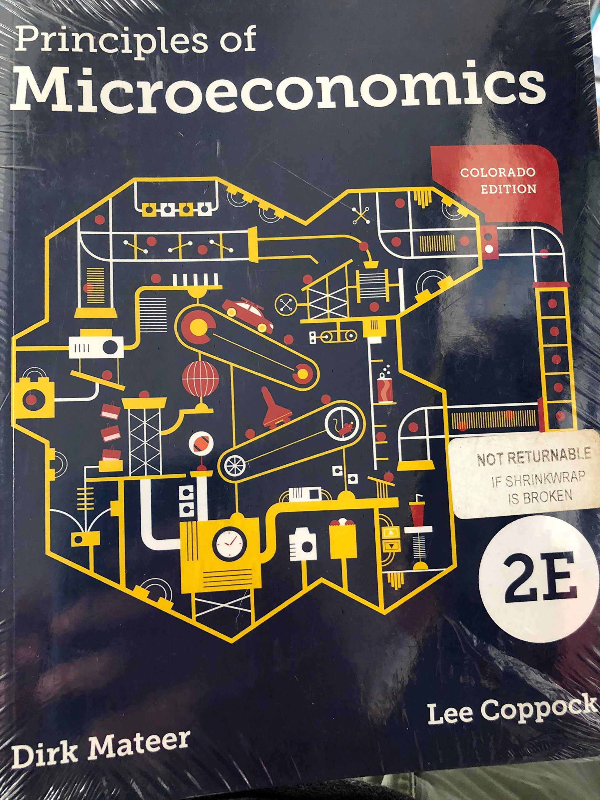 Download Principles of microeconomics -Colorado edition ebook