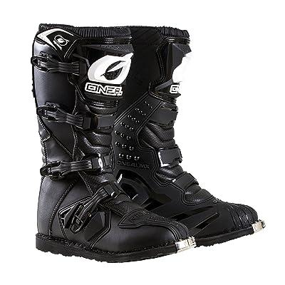 O'Neal Men's New Logo Rider Boot (Black, Size 10): Automotive