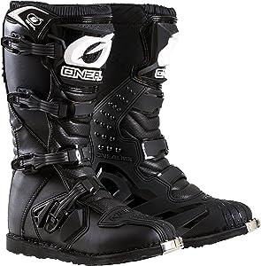 O'Neal 0325-111 Men's New Logo Rider Boot (Black, Size 11)