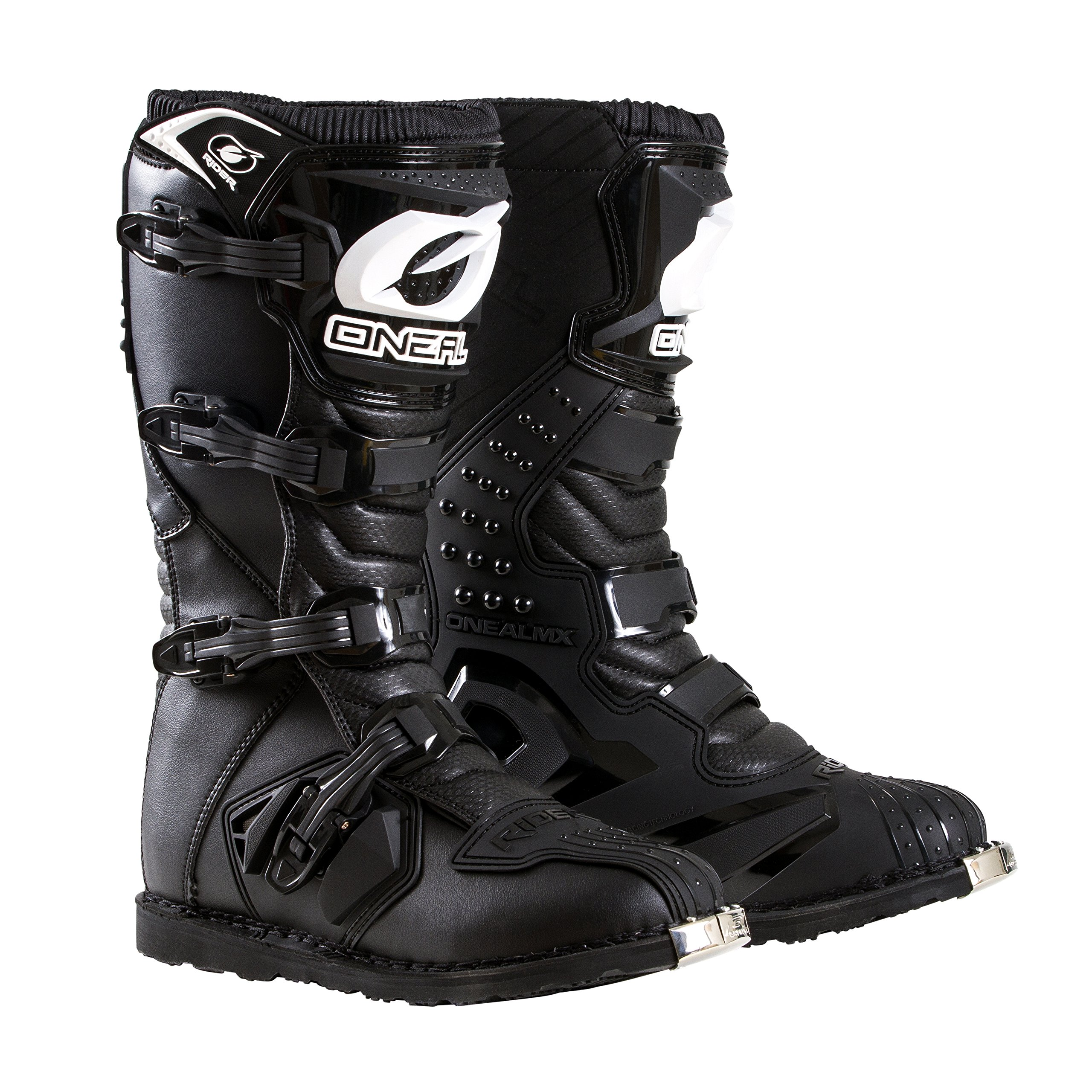 O'Neal Men's New Logo Rider Boot (Black, Size 10) by O'Neal
