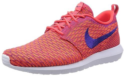 newest 877ad 49374 Nike Mens Flyknit Rosherun Low-Top Sneakers, Red (Brght CrmsnCrt Prpl