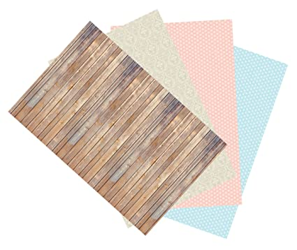 amazon com ella bella photography backdrop paper assorted designs