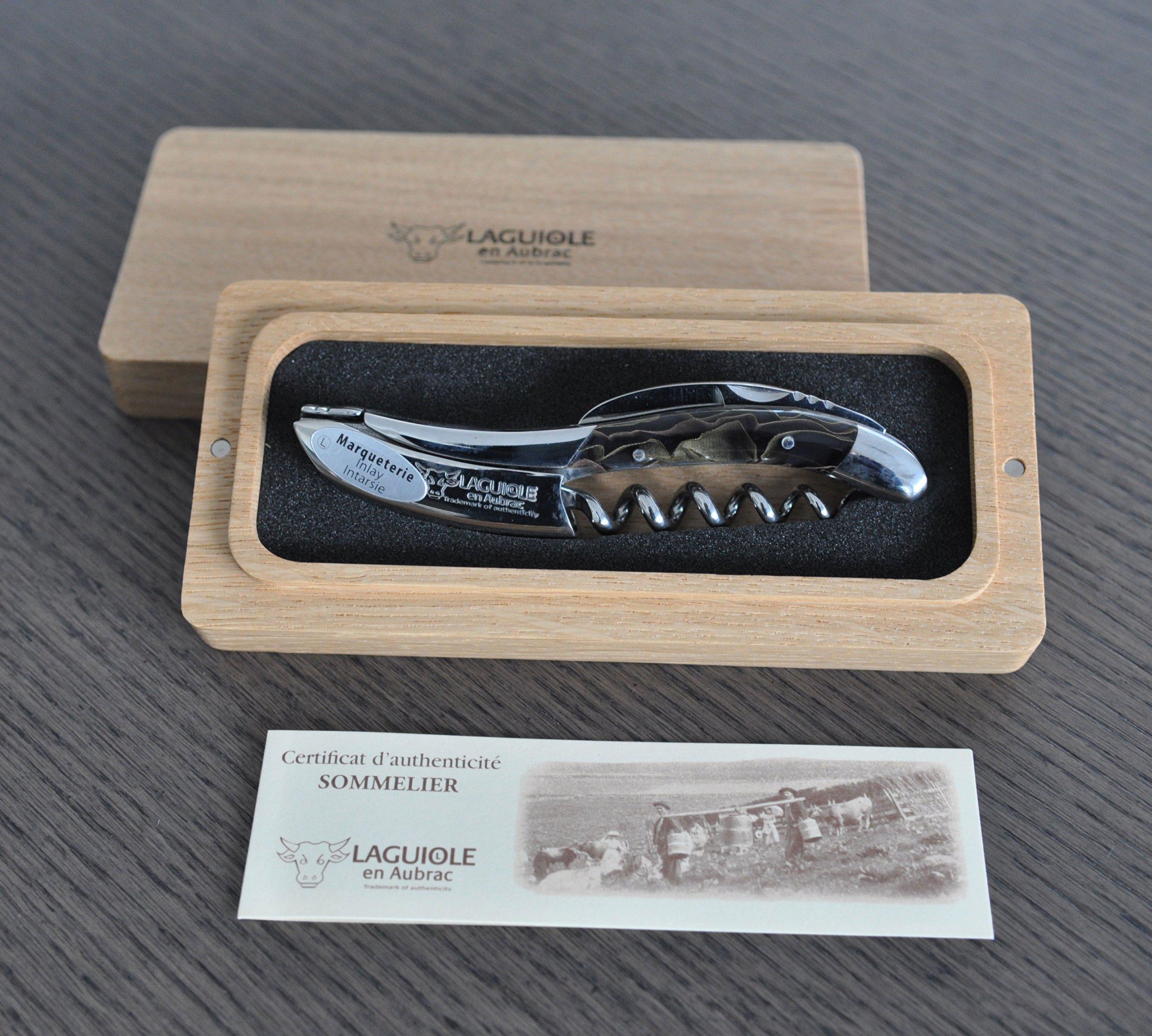 Laguiole an Aubrac Sommelier Corkscrew, Allure Bron Lai by Laguiole en Aubrac