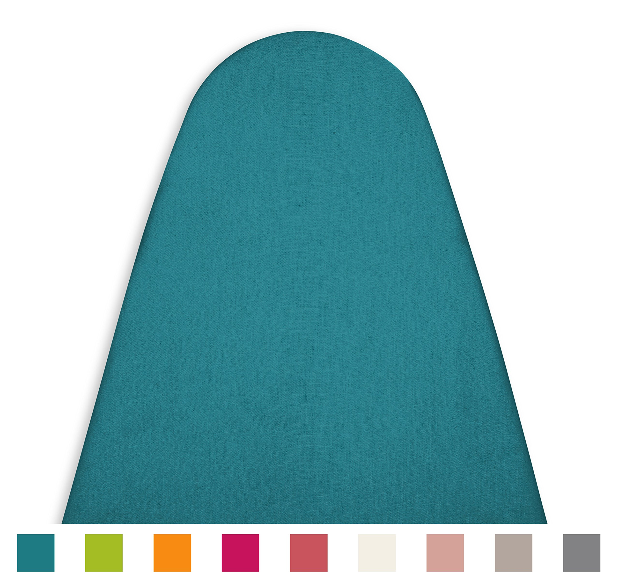 Encasa Homes Ironing Board Cover 'Luxury Line' with Extra Thick PAD (Fits Board 15''x54'')