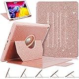 Funda para iPad de 8ª generación, iPad de 7ª/8ª generación de 10.2 pulgadas, lujosa [purpurina brillante] visualización multi