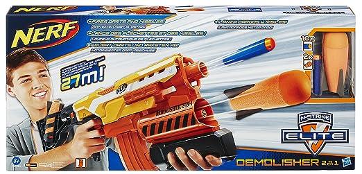 143 opinioni per Hasbro A8494 Nerf Elite Demolisher 2 in 1
