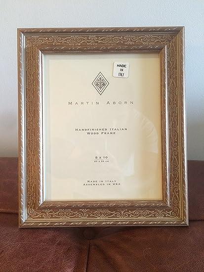 MARTIN ABORN HANDFINISHED ITALIAN WOOD FRAME 8 X 10: Amazon.ca: Home ...