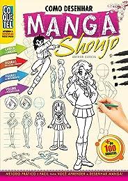 Como Desenhar Mangá Shoujo (Aprenda a Desenhar Passo a Passo Livro 1)