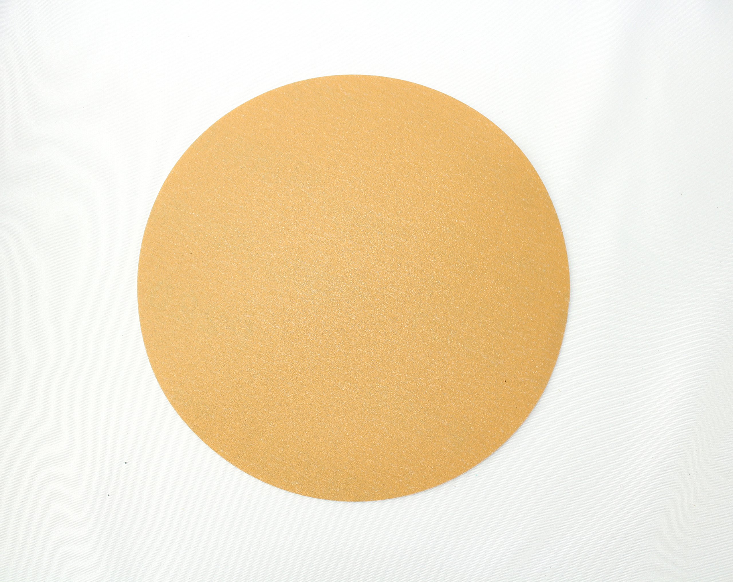 Sunmight 02211 1 Pack 5'' No Hole Velcro Disc (Gold Grit 220)