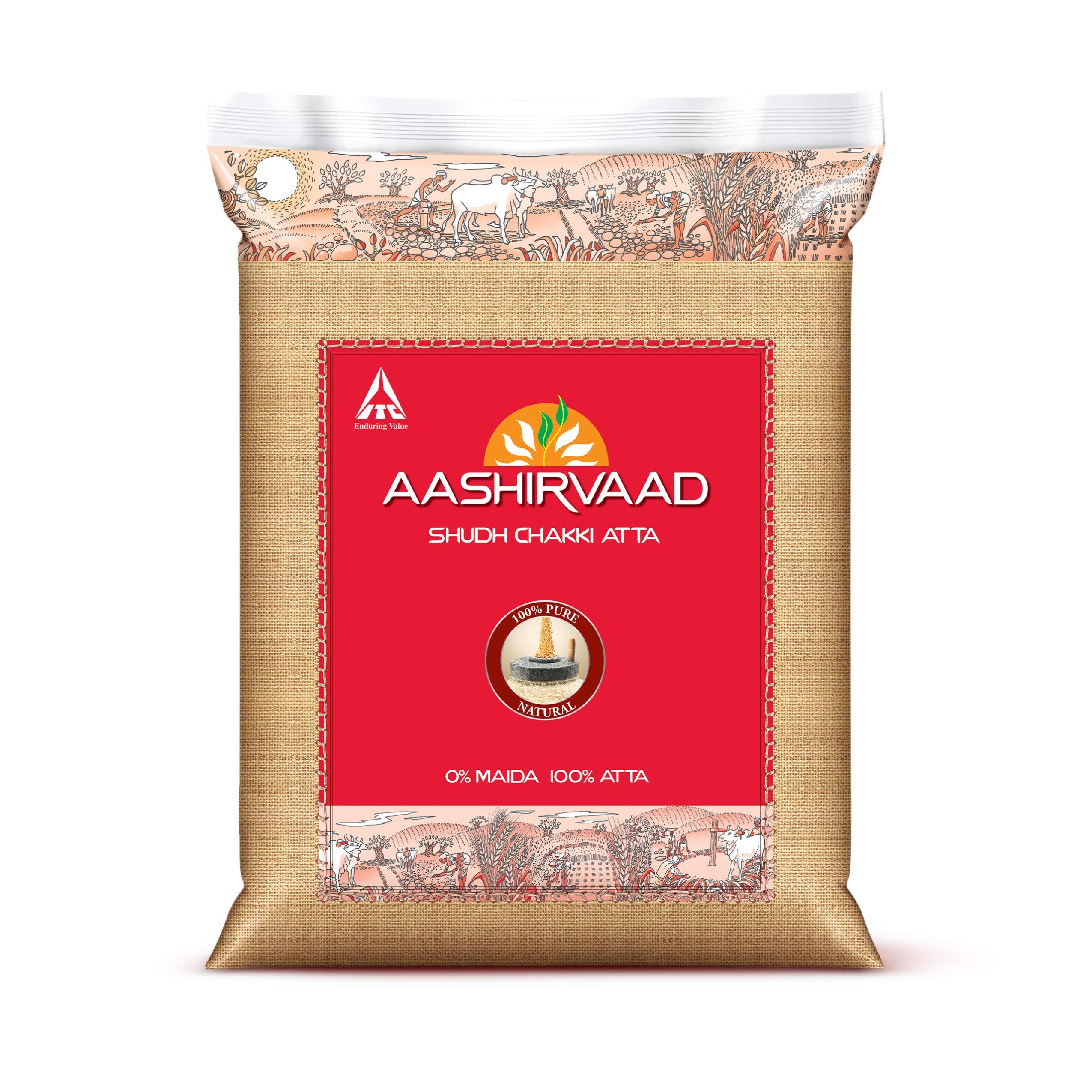 Aashirvaad Whole Wheat Atta 11lb