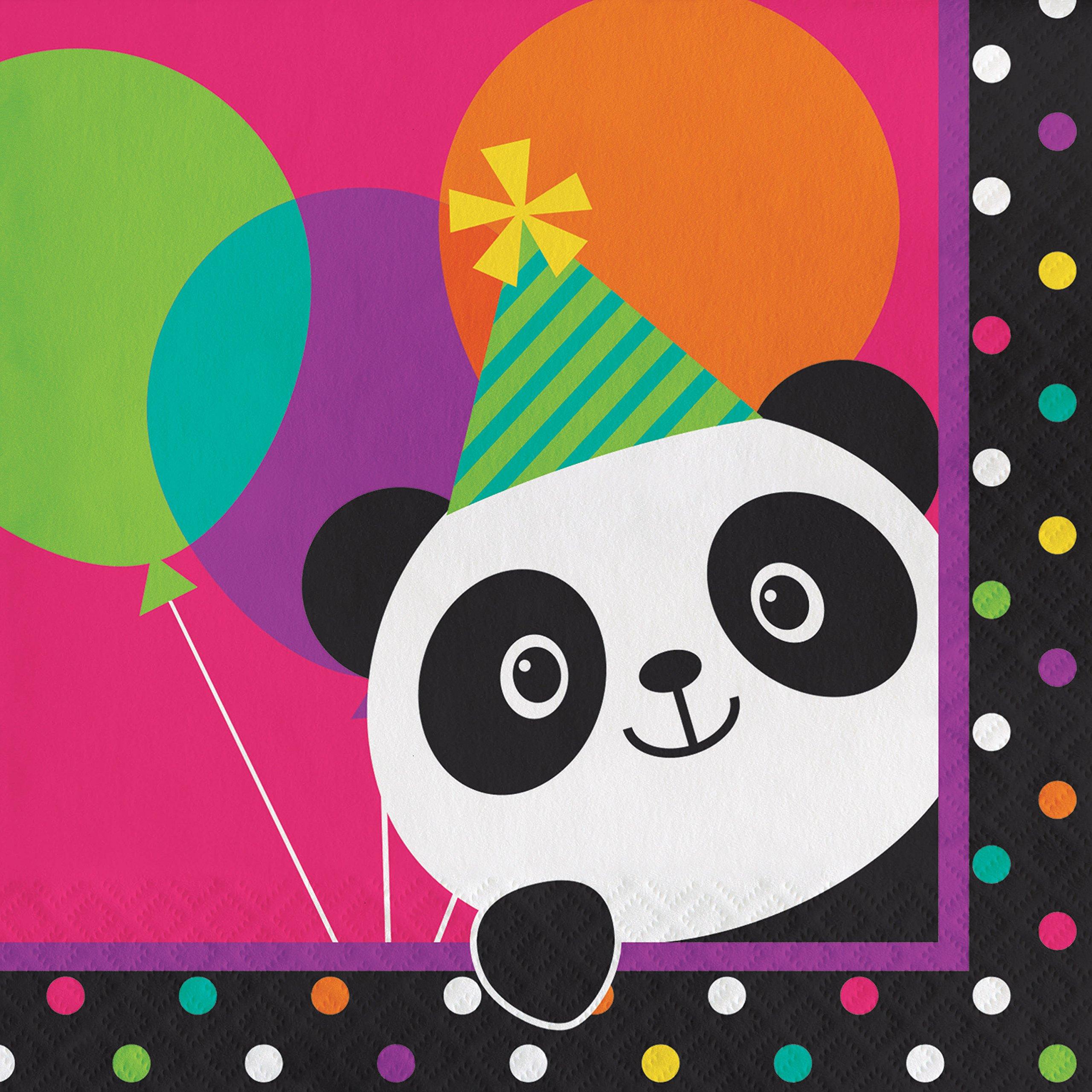Panda Napkins, 48 ct