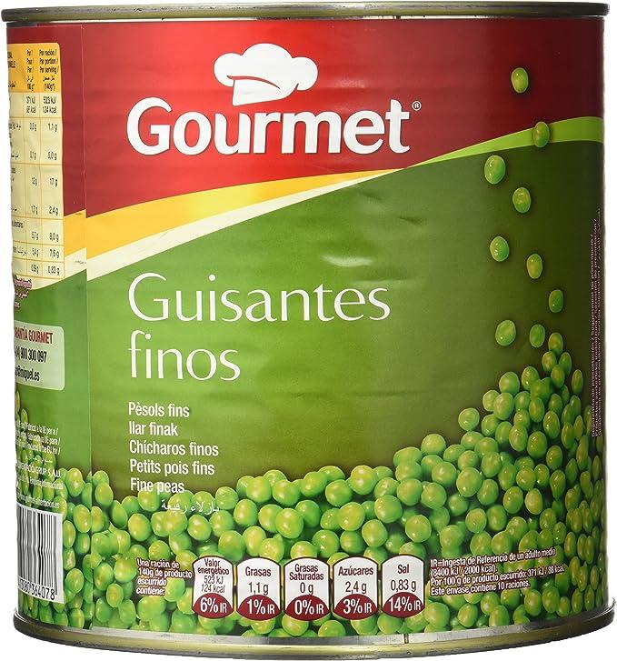 Gourmet - Guisante fino - 1.5 kg: Amazon.es: Alimentación y ...