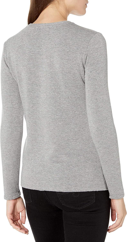 Stateside Damen Sweatshirt Grau Meliert