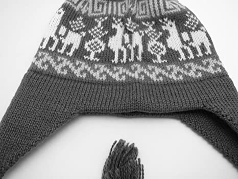 73f7ec4cc68 Amazon.com  MADE TO ORDER IN ANY COLOR - Pure Alpaca Winter Hat with  Earflaps  Clothing