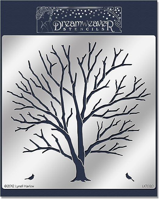 Tree of Life Stampendous Dreamweaver Stencil