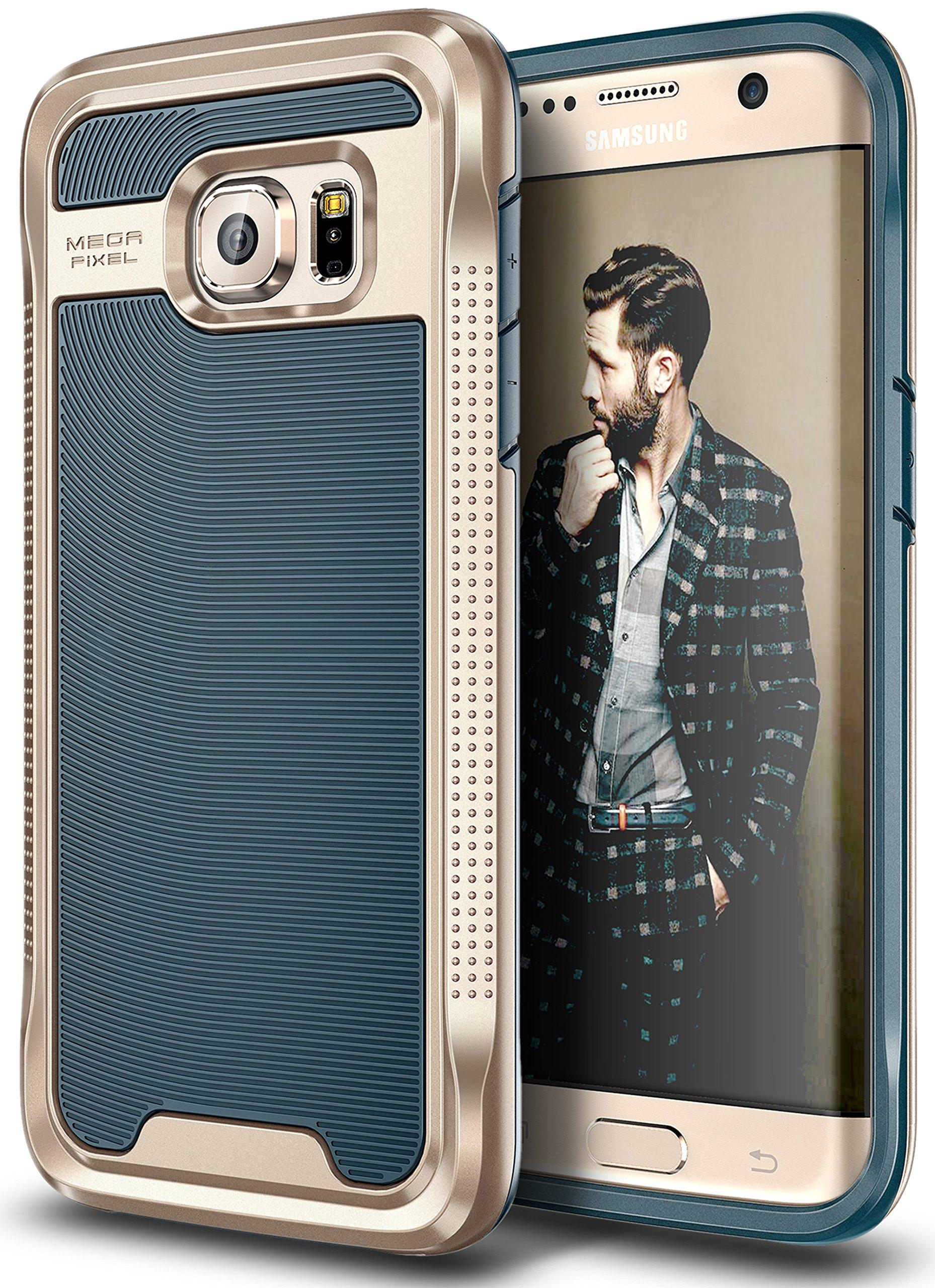 Galaxy S7 Edge Case E LV Galaxy S7 Edge Hybrid [Scratch Dust