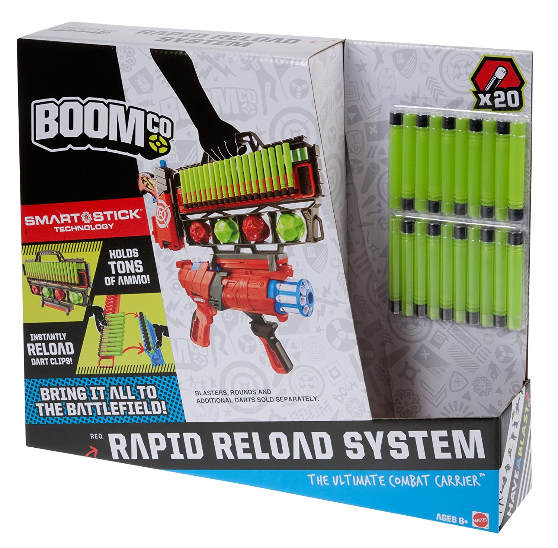BOOMco Rapid Reloader Blaster Mattel 25CFF08