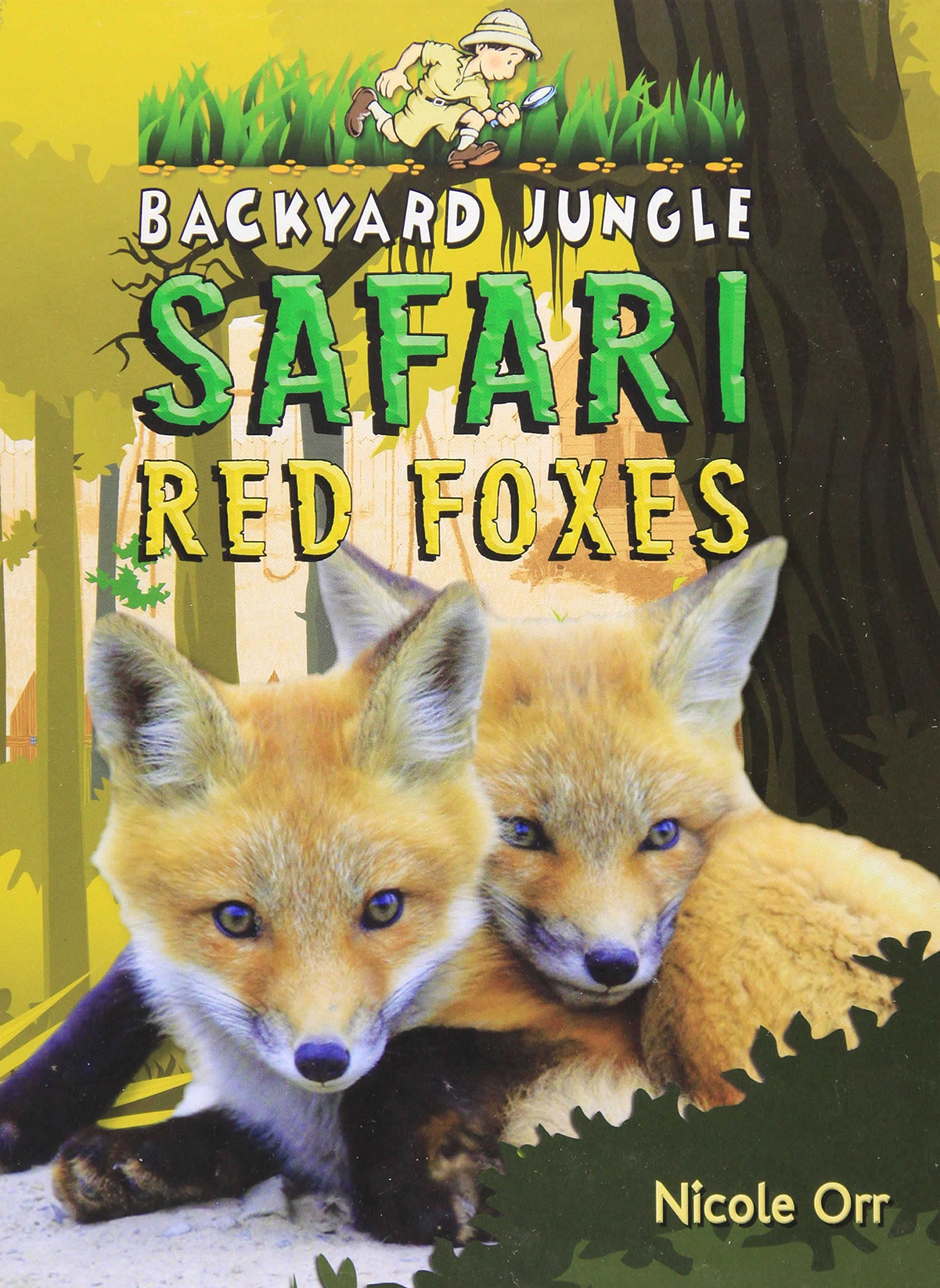 Red Fox In Backyard - House of Things Wallpaper