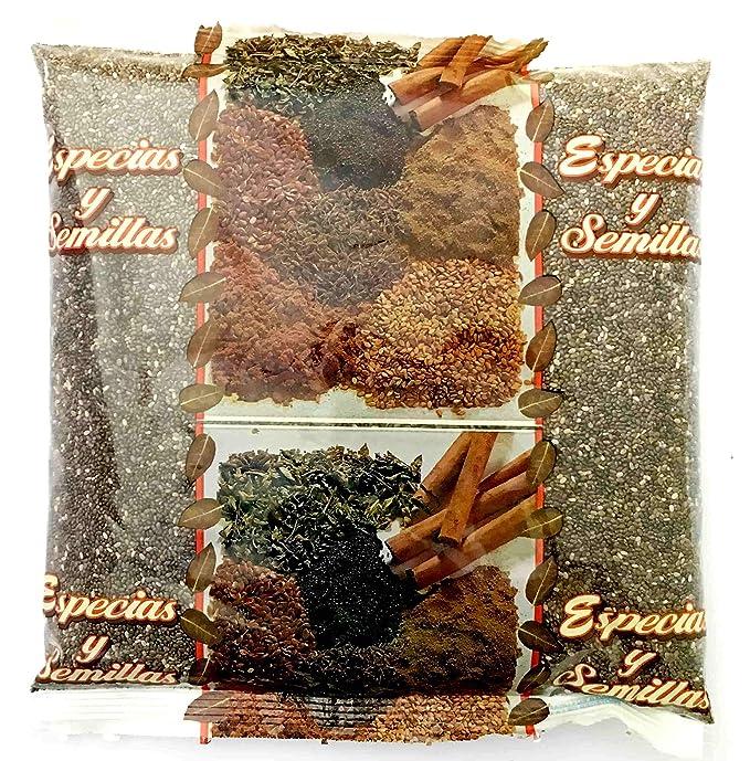 Chía Negra Semillas LA PIEDRA REDONDA Bolsa 500 g: Amazon.es: Alimentación y bebidas