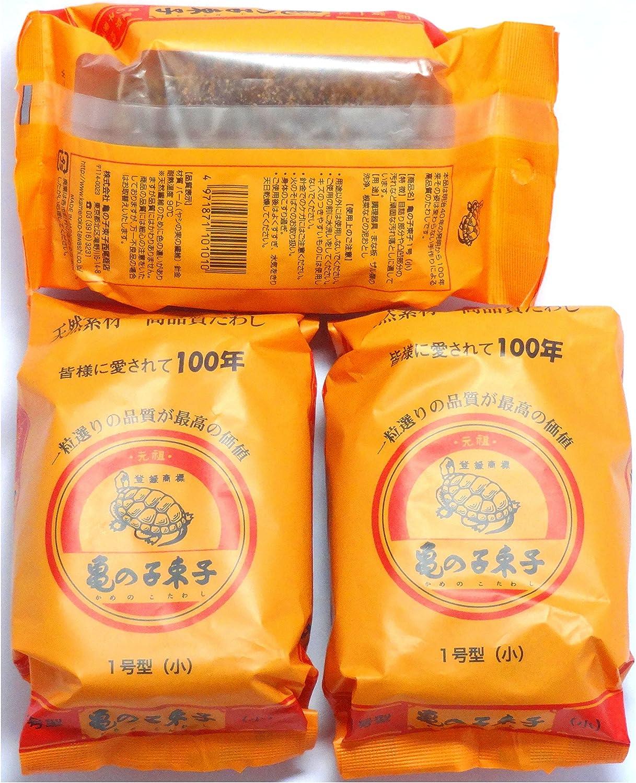"KAMENOKO TAWASHI"" VEGETABLE SCRUB BRUSH × 3 Packs (Japan Import)"