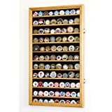 Large Military Challenge Coin Display Case Cabinet Holders Rack 98% UV - Lockable