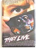 They Live Movie Poster Fridge Magnet (2 x 3 inches)