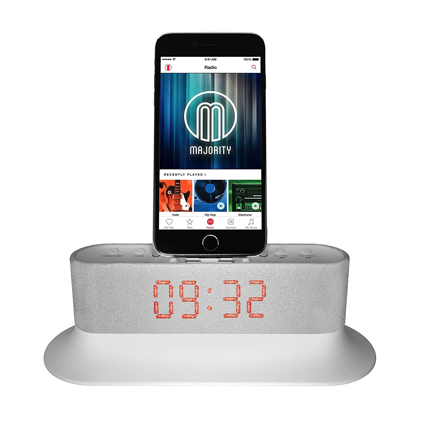 Best iPhone 6 Plus Docking Station With Alarm Clock 2018-2020 on ...