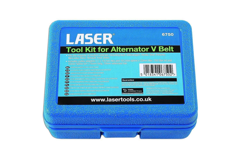 Laser 6750/Tool Kit f/ür Lichtmaschine V G/ürtel