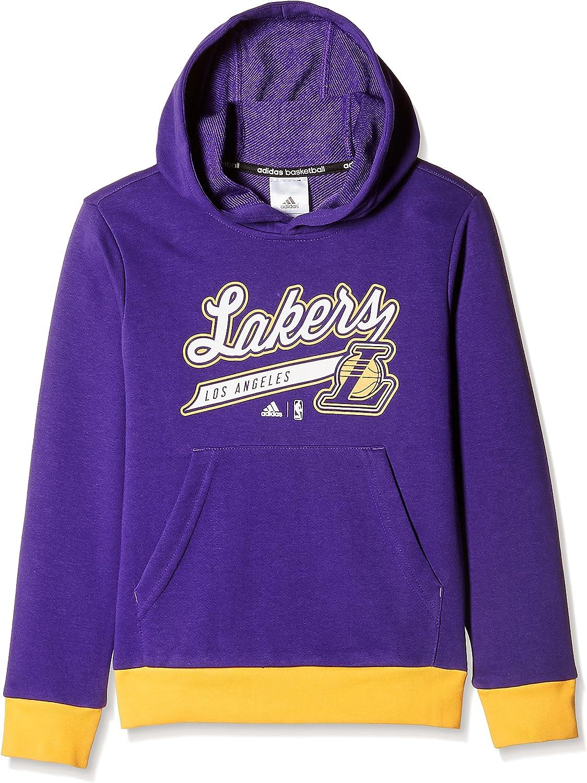 adidas GFX Team Hoodie - Camiseta de baloncesto para niño, color ...