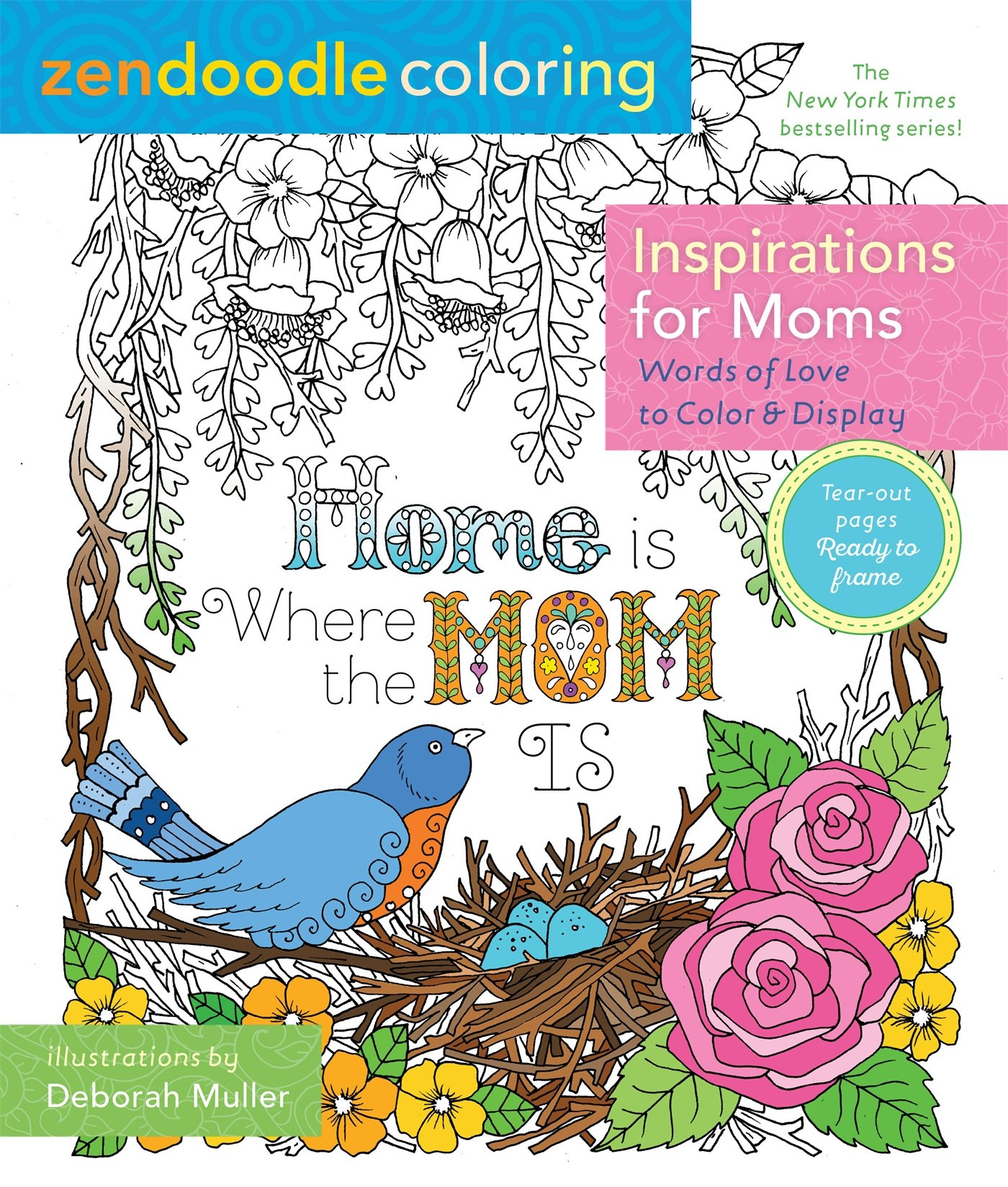 Zendoodle Coloring Inspirations Words Display product image