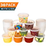 Best Deli Food Storage Containers With Lids. 16 Ounce Restaurant Take Out/ Freezer Containers. 36 Count Package. Microwave, Dishwasher and Freezer Safe. BPA Free.